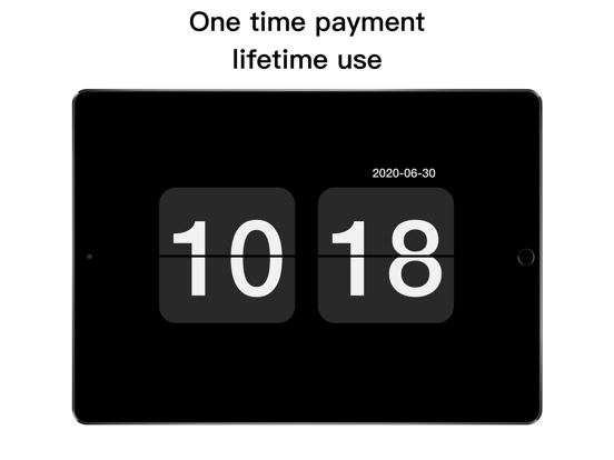 Digital Retro Clock screenshot 4