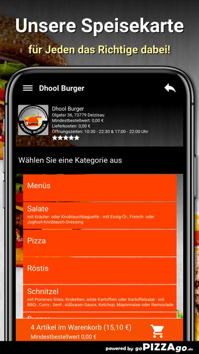 Dhool Burger Deizisau screenshot 4
