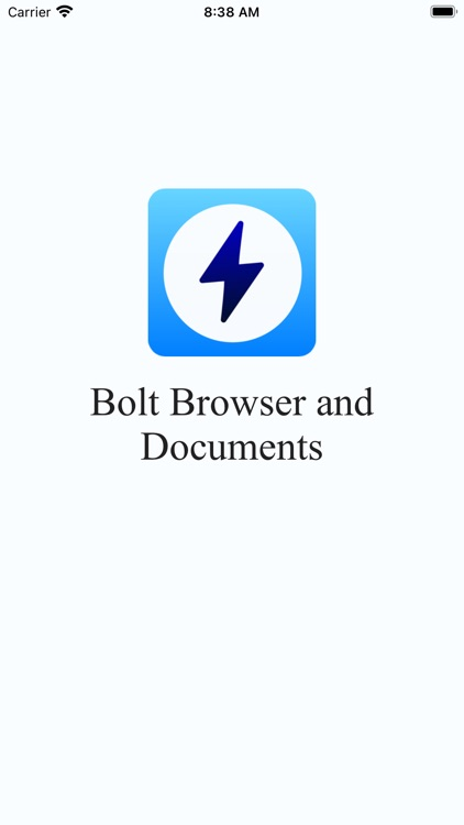 Bolt Browser and Document