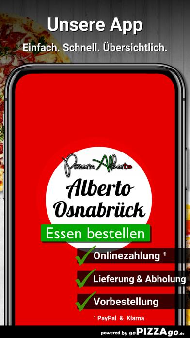 Pizzeria Alberto Osnabrück screenshot 2