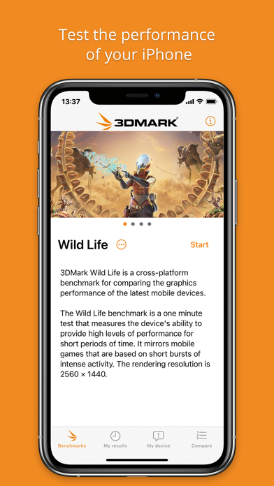 3DMark Wild Life Benchmarkのおすすめ画像1