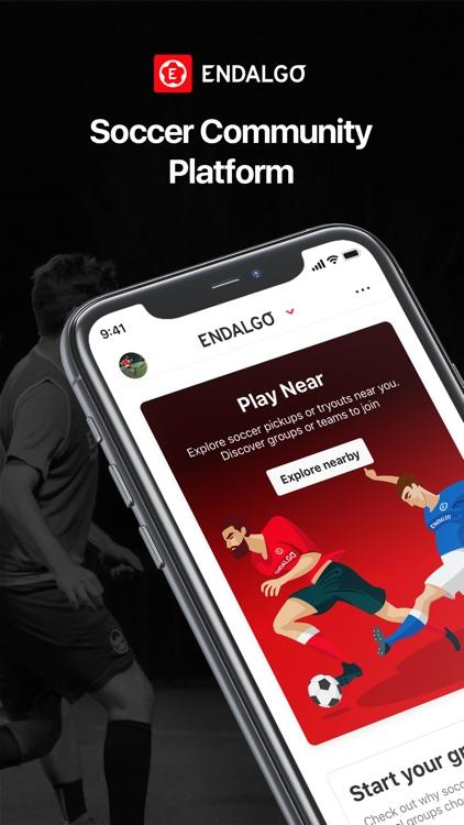 ENDALGO - Find Soccer Near You
