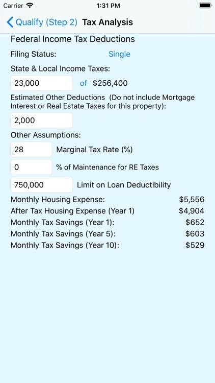 MortQ Mortgage Qualifier screenshot-5