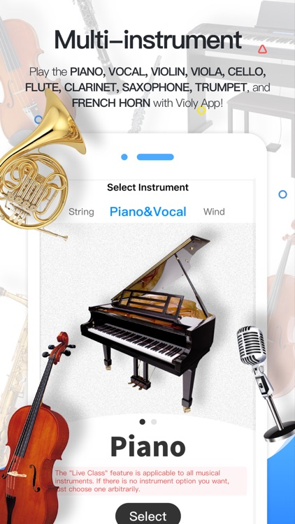 Violy - Play Music Instruments