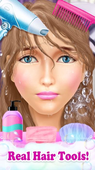 Princess HAIR Salon: Spa Games Screenshot on iOS