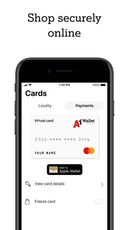A1 Wallet screenshot-3