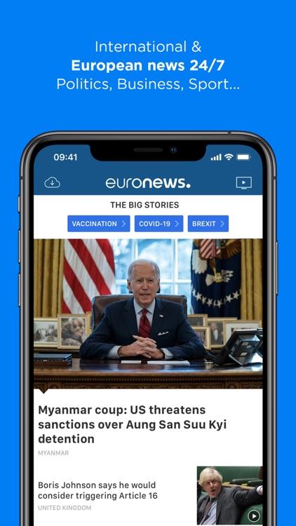 Euronews: World news & TV