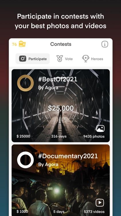 Agora - Global Talent Awards screenshot-0