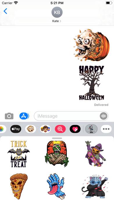 Halloween Halloween Stickers screenshot 1