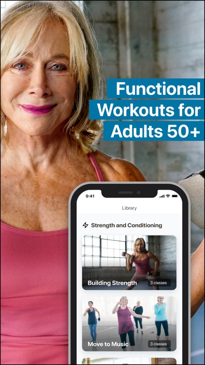 Wysefit: Exercise App for 50+ screenshot-0