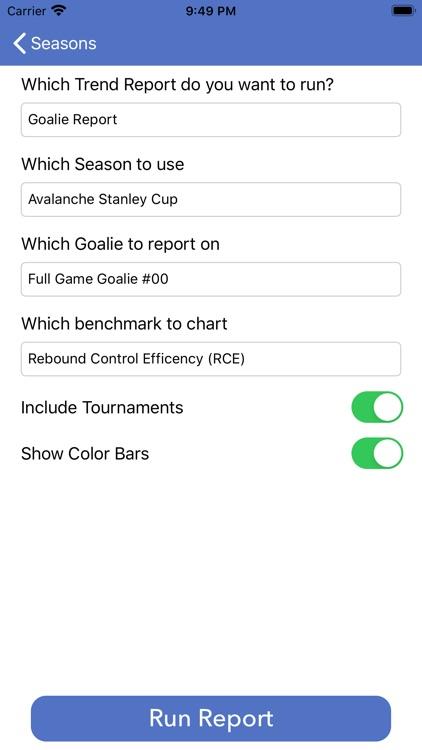 Goalie Rebound Tracking screenshot-9