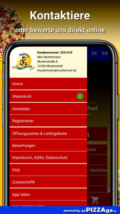 Bajwas Pizza Leipzig Leutzsch screenshot 3