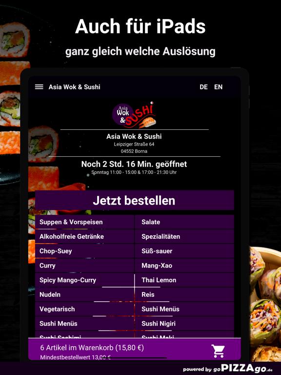 Asia Wok & Sushi Borna screenshot 7