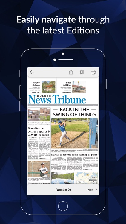 Duluth News Tribune E-paper