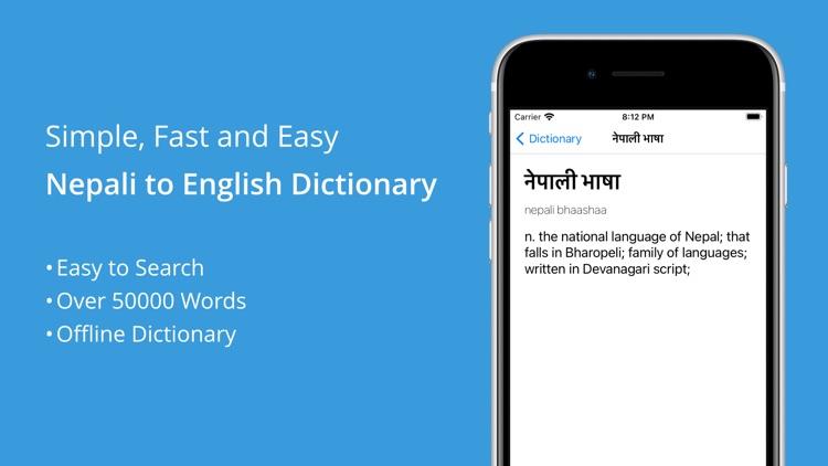 Nepali-English Dictionary