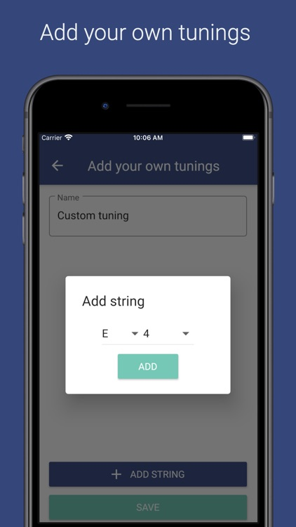 Pro Guitar Tuner screenshot-3