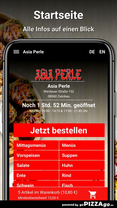 Asia Perle Zwickau screenshot 2