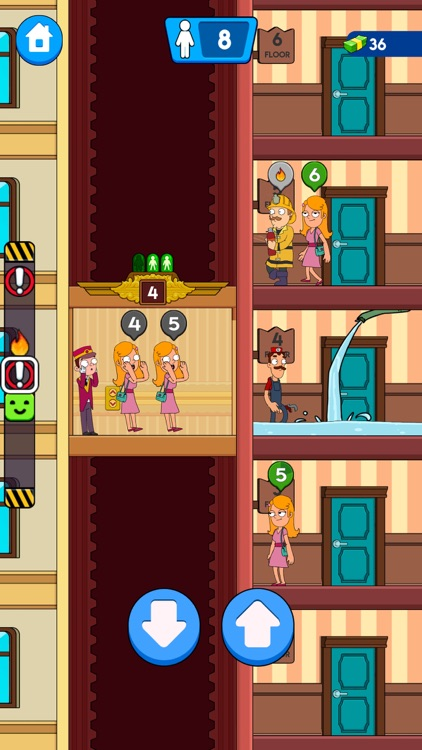 Hotel Concierge: Elevator Game screenshot-1