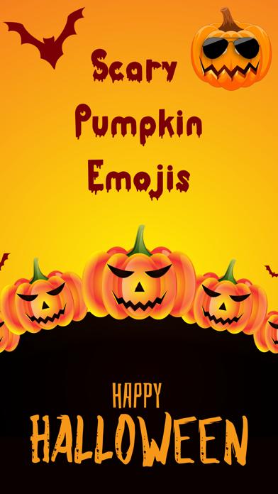 Scary Pumpkin Emojis screenshot 1