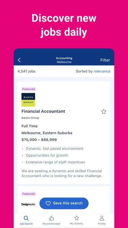 SEEK - Job Search screenshot-3