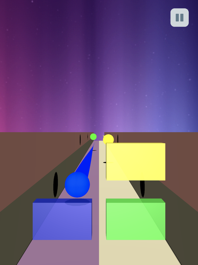 Block Color Balls Puzzle 3D, game for IOS