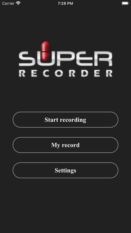 Super Recorder X+