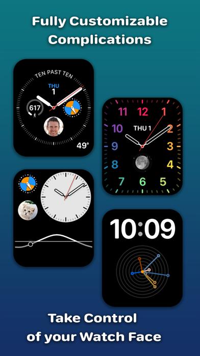 Watchsmith iphone captures décran