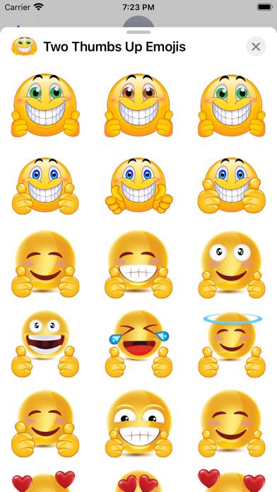 Two Thumbs Up Emojis screenshot 4