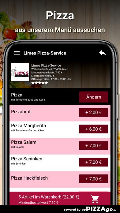 Limes Pizza-Service Aalen screenshot 5
