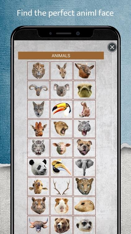 Animal Face Camera screenshot-3
