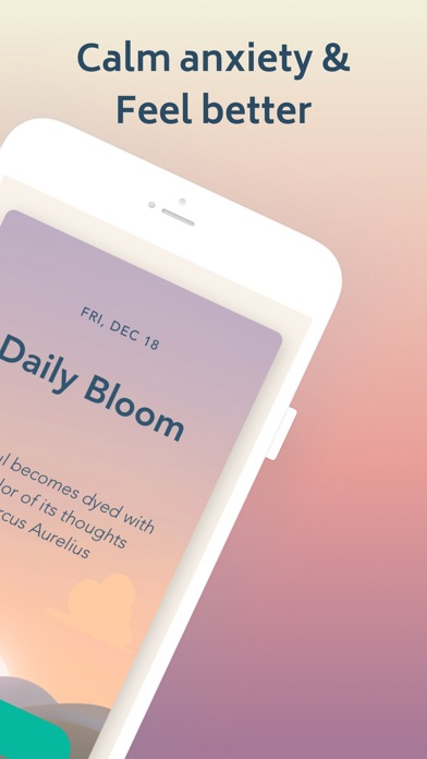 Bloom: CBT Therapy & Self-Care Screenshot