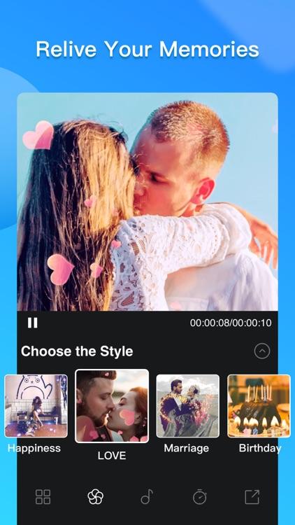 Slide Maker - Photo Video screenshot-0