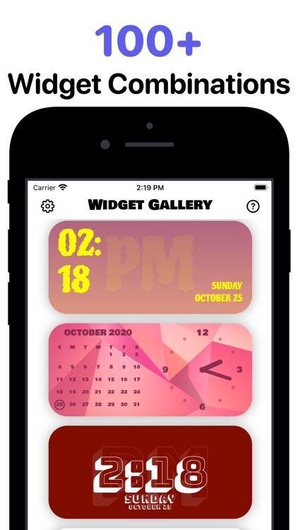 Widget: Custom Widgets Gallery screenshot-3