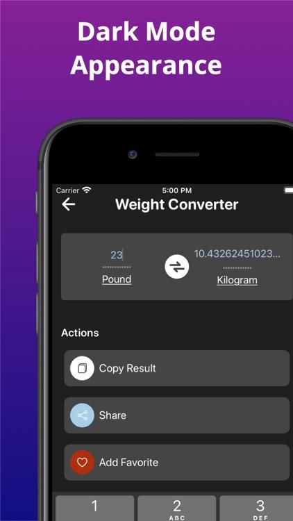 Unit Converter & Conversion screenshot-5