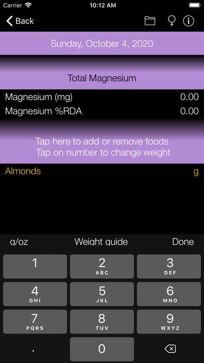 Magnesium Counter & Tracker screenshot-4