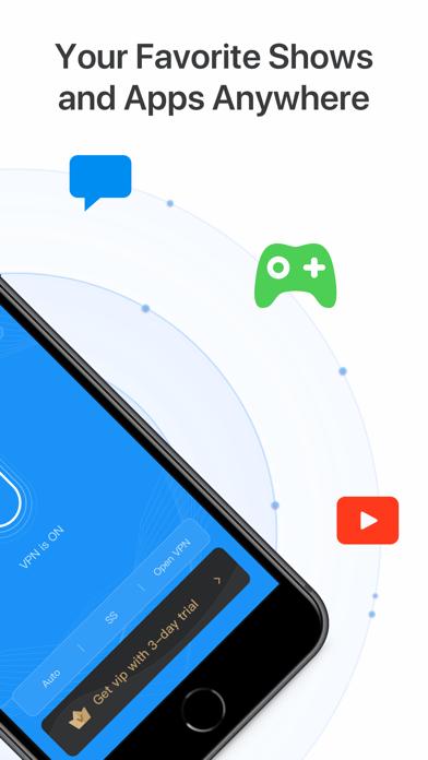 Fast VPN: Private VPN Proxyلقطة شاشة2