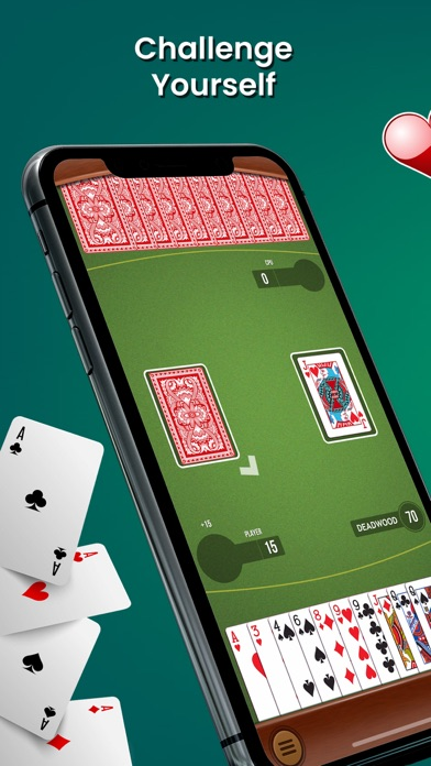 gin rummy card game classic™ app download  android apk