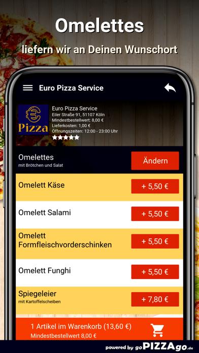 Euro Pizza Service Köln screenshot 6