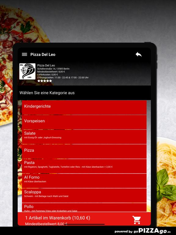 Pizza Del Leo Berlin screenshot 8
