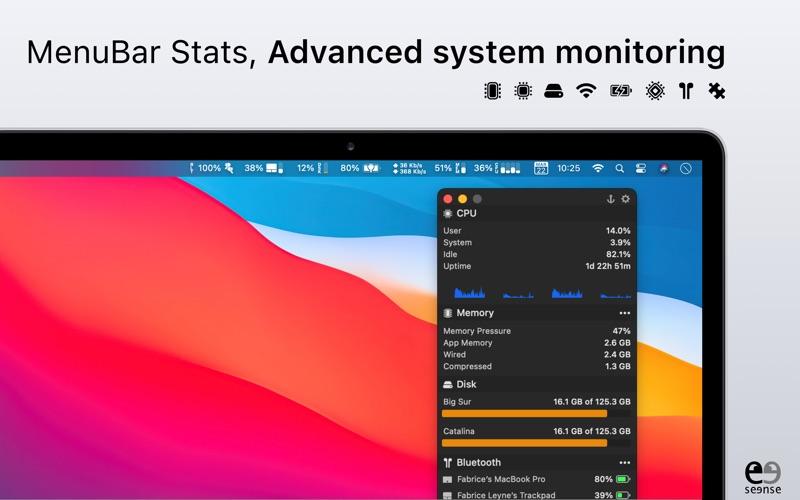 MenuBar Stats Screenshot