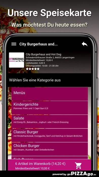 City Burgerhaus and Hot Dog screenshot 4
