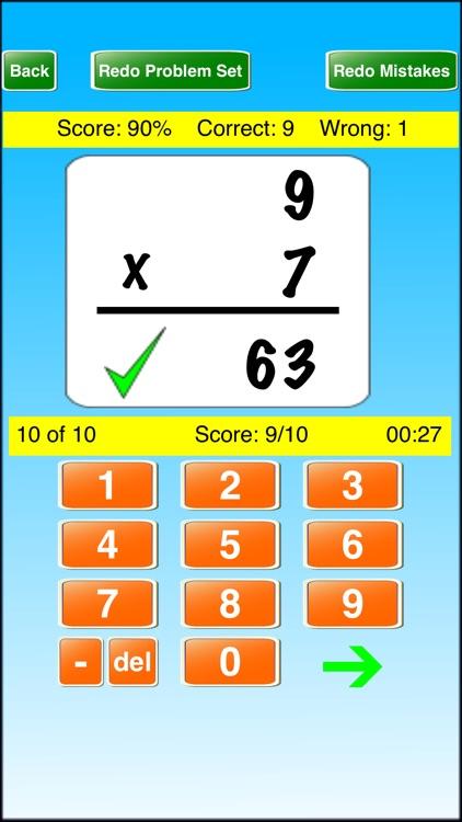 Ace Math Flash Cards School