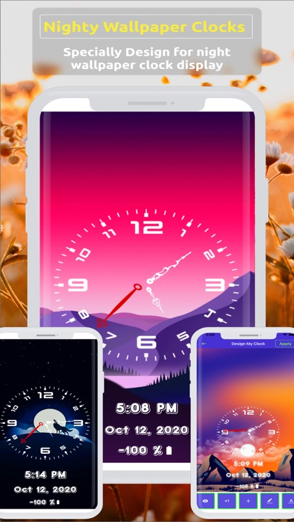 Analog Clock ~ Stand Face Time screenshot-8