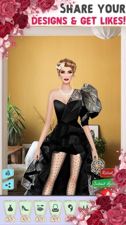 Glam Fashion Frenzy Stylist screenshot-3