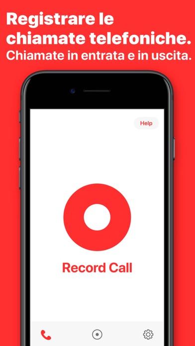 Screenshot of Registratore chiamate: WeRec1