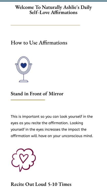 Daily Dose Affirmations
