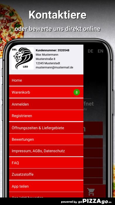 Pizza Del Leo Berlin screenshot 3