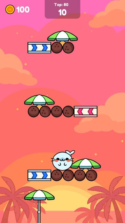 Monkey Roll: Kawaii Climb screenshot-5