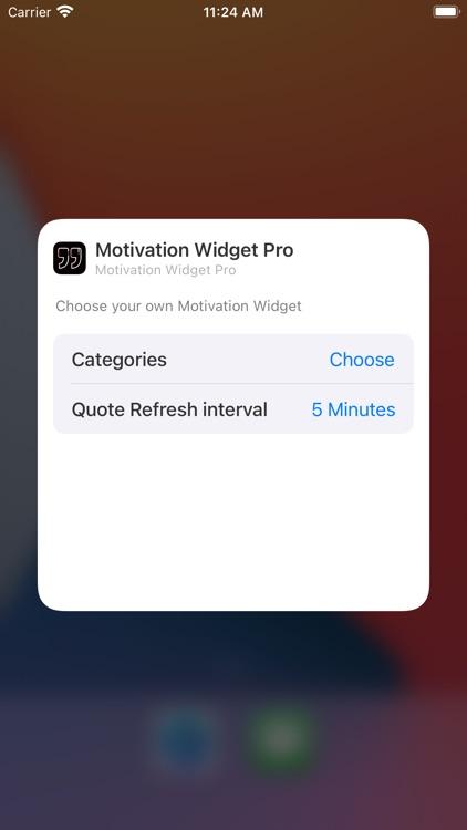 Motivation Widget: Daily Quote screenshot-5