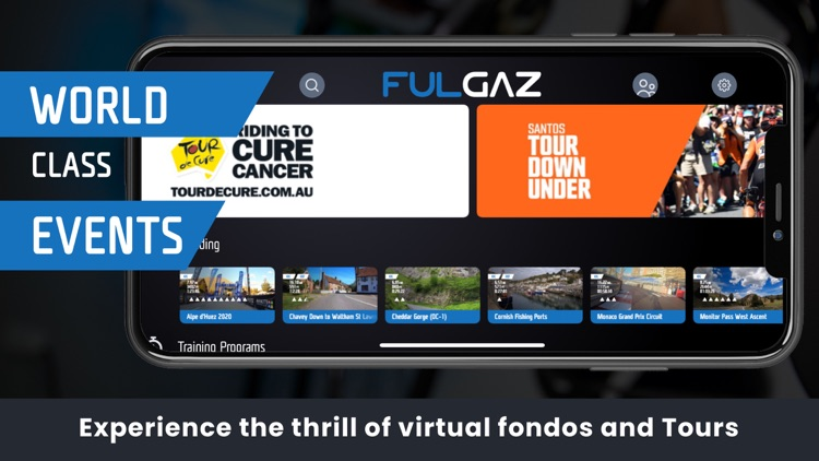FulGaz Video Cycling App screenshot-4